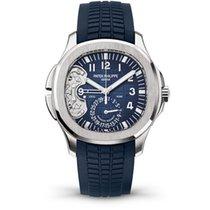 Patek Philippe 5650G Aquanaut Ref 5650G Travel Time in White...