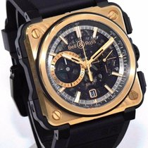 Bell & Ross BR-X1 Rose Gold & Ceramic BRX1-CE-PG 45mm...