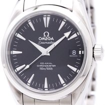 Omega Polished Omega Seamaster Aqua Terra Co-axial Automatic...