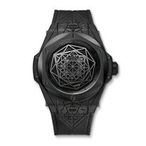 Hublot Big Bang Sang Bleu All Black 45mm Ref 415.CX.1114.VR.MXM17