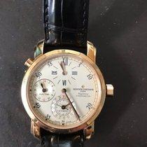 Vacheron Constantin Malte DualTime Regulator 18KT Rose Gold on...