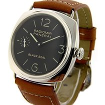 Panerai PAM 00183 PAM 183 - Radiomir Black Seal in Steel - on...