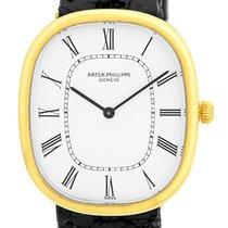 "Patek Philippe Gent's 18K Yellow Gold  ""Golden..."