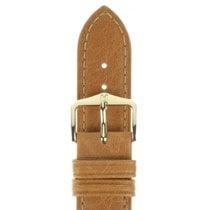 Hirsch Uhrenarmband Camelgrain honig L 01009010-1-18 18mm