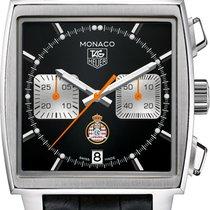TAG Heuer Men's CAW211K.FC6311 Monaco Calibre 12