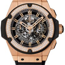 Hublot King Power Unico King Gold Diamond
