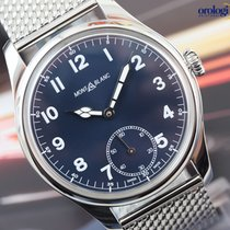 Montblanc Men's 1858 Manual Small Second Steel on Steel...