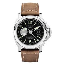 Panerai LUMINOR GMT AUTOMATIC ACCIAIO - 44 MM PAM1088