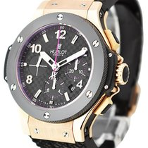 Hublot 301.PB.131.RX Big Bang 44mm in Rose Gold - on Black...