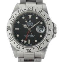 Rolex Explorer II Stainless Steel Black Dial 40mm