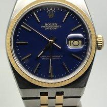Rolex OYSTER QUARTZ STEEL/GOLD DARK BLUE DIAL