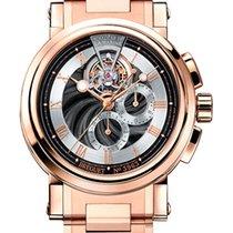 Breguet Brequet Marine 5837 18K Rose Gold Men's Watch