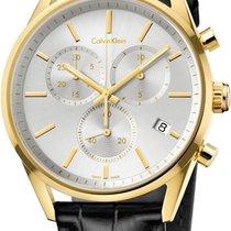 ck Calvin Klein City Chrono K4M275C6 Herrenchronograph Swiss Made