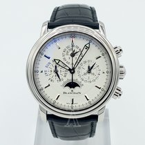 Blancpain Men's Leman Flyback Chrono Perpetual Calendar Watch