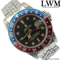 Rolex GMT Master 1675 tropical glossy gilt dial 1965's