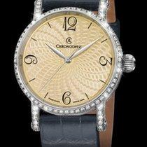 Chronoswiss Unique Timepieces Artist Diamonds Silver Guilloche...
