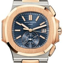 Patek Philippe Nautilus Stainless Steel & Rose Gold...