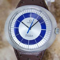 Omega Geneve Dynamic Rare Mens 1960 Stainless Steel Manual...