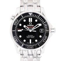 Omega Seamaster Diver 300m Black Steel 36.25mm - 212.30.36.20....