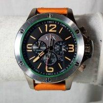 Armani EXCHANGE AX1516 Chronograph Black Dial Light Brown...