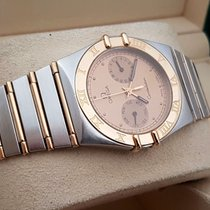Omega Constellation Day Date Lady Watch Gold Steel (33 mm)