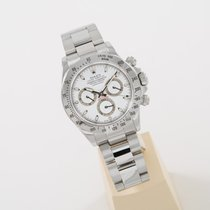 Rolex Daytona Stahl white dial perfect condition