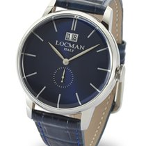 Locman Men's 1960 Solo Tempo Quartz Data  0252V02-00BLNKPB