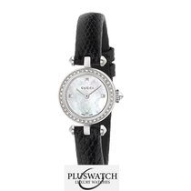 Gucci Diamantissima 27mm Mother of Pearl Dial Leather Strap R