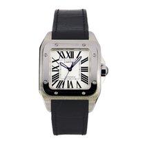 Cartier Santos 100 Automatic Mid-Size Watch Ref W20106X8