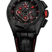 Cvstos Challenge-R50 HF Concept Men's Watch, Black Steel,...