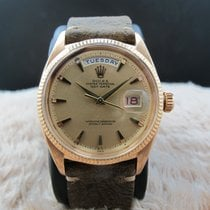 Rolex DAY-DATE 6611 18K Pink Gold with Claw Markers Dial