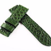 Panerai 24mm Crocodile Leather Strap Alligator Replacement...