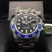 Rolex blue black GMT-Master II ceramic 116710 blnr batman