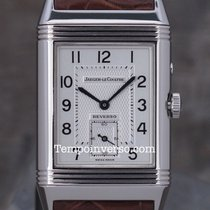 Jaeger-LeCoultre Reverso Night & Day Steel/Aligator Box...