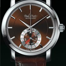 Paul Picot FIRSHIRE  RONDE  DAY& DATE  trap skin brown...