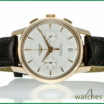Longines Heritage Collection Flagship Chronograph 750 Pinkgold