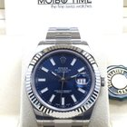 勞力士 (Rolex) Datejust II Blue Index Dial White Gold Bezel 41mm NEW