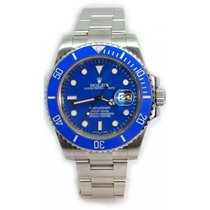 Rolex Submariner 116610 Heavy Band w/ Custom Blue Ceramic...