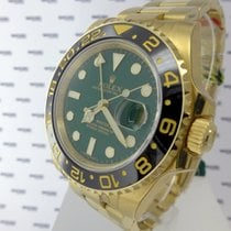 Rolex GMT Master II Yellow Gold 116718LN - Green Dial