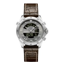 Hamilton Men's H64514581 Khaki Aviation Flight Timer Watch