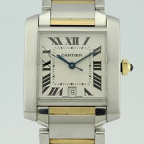 Cartier Tank Francaise Automatic Steel and 18K Gold 2302
