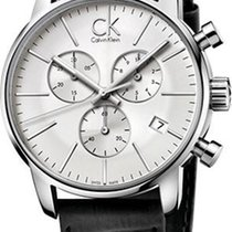 ck Calvin Klein City Chrono K2G271C6 Herrenchronograph Swiss Made
