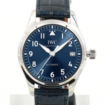 IWC Pilot 36 Date Blue Dial