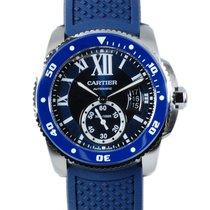 カルティエ (Cartier) カリブル ドゥ カルティエ ダイバー ブルー WSCA0011