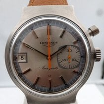 Longines vintage 1972 chronograph mono pusher munich