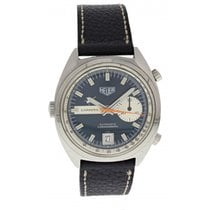 Heuer Carrera Ref. 1553 N Blue Dial Chronograph