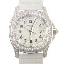 百達翡麗 (Patek Philippe) Aquanaut 18k White Gold With Diamond...