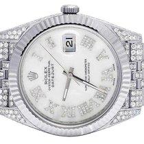 Rolex Datejust II 126334 41MM White MOP Dial Steel Jubilee...