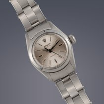 Rolex Ladies Oyster Precision steel manual watch