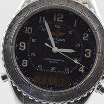 Breitling Intruder Reveil Herren Uhr Stahl 42mm A51035 Mit...